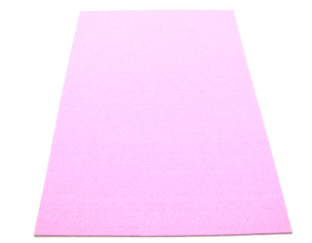Plancha de fieltro - 3mm espesor - 45x30cm - Rose