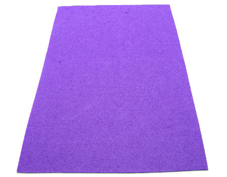 Plancha de fieltro - 3mm espesor - 45x30cm - Purple