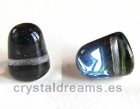 10x8mm Gumdrop Crystal Orion Agujero:1mm