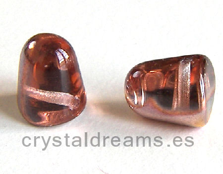 10x8mm Gumdrop Crystal Sliperit Agujero:1mm