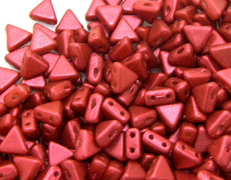 KHEOPS® PAR PUCA® 6 MM - Red Metallic Mate - 5gr.