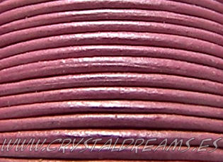 Cuero Metallic Lt. Rose - 1mm