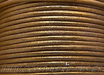 Cuero metallic Gold
