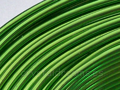 12 metros CABLE DE ALUMINIO - 1,5mm - LIGHT GREEN