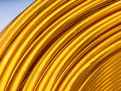 CABLE DE ALUMINIO - 1,5mm - LIGHT TOPAZ x 1m