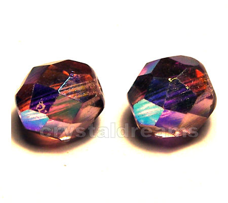 "Facetadas 6mm ""Light Amethyst AB\"""