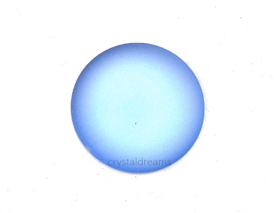 Cabuchon Luna Soft 24mm - Sky Blue