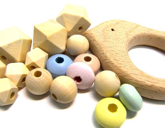 PACIFIERS/TEETHER WOODEN PARTS