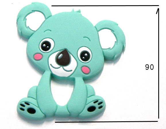 Silicone antibacterial Teether 90mm Koala MINT