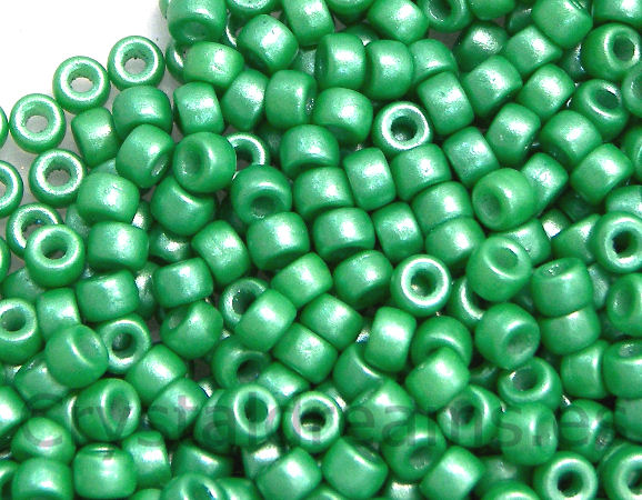 8/0 Matubo Beads - Pearl Shine Light Green - 5 gr.