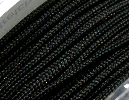 Hilo Nylon Trenzado europeo Griffin -1mm- Black x 1m.