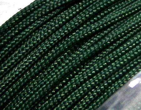 Hilo Nylon Trenzado europeo Griffin -1mm- Dk. Green x 1m.