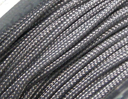 Hilo Nylon Trenzado europeo Griffin -1mm- Dk. Grey x 1mt