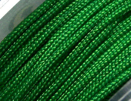 Hilo Nylon Trenzado europeo Griffin -1mm- Green x 1m.
