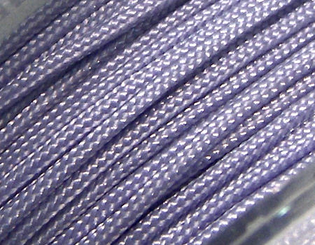 Hilo Nylon Trenzado europeo Griffin -1mm- Lilac x 1m.
