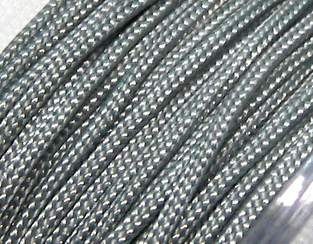 Hilo Nylon Trenzado europeo Griffin -1mm- Lt. Grey x 1m.