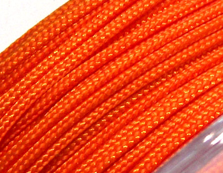 Hilo Nylon Trenzado europeo Griffin -1mm- Orange x 1m.