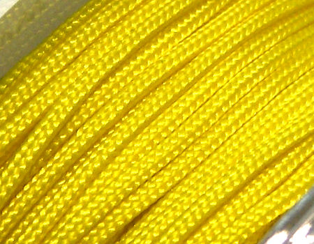 Hilo Nylon Trenzado europeo Griffin -1mm- Yellow x 1m.