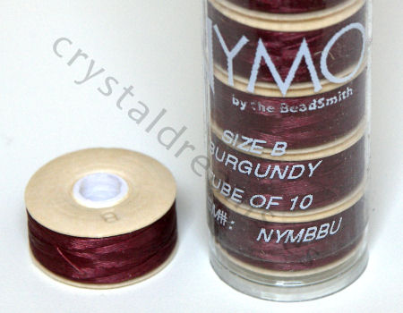 Hilo Nymo B 66metros Color: Burgundy