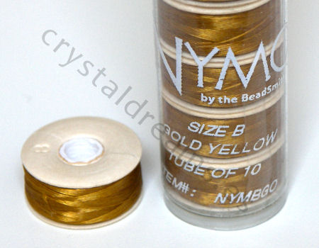 Hilo Nymo B 66metros Color: Gold Yellow