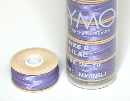 Nymo D thread - 58 meters - Lilac