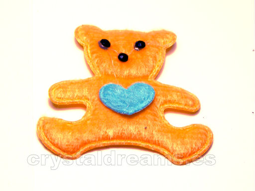 Light Orange Bear - 45x43mm