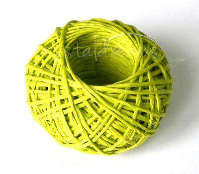 CUERDA DE PAPEL 1mm - LIGHT GREEN x20mts