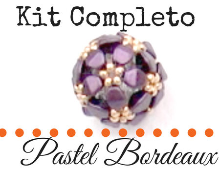 Kit completo Pentabola con Pinch Beads - Bordeaux