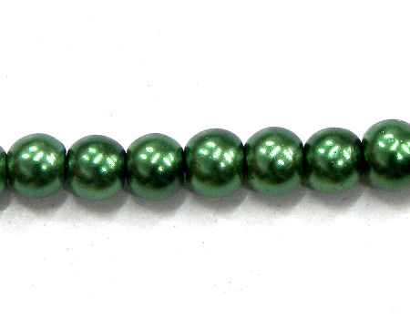 Perlas de Vidrio 4mm - Agujero: 0,5mm - Dark Green