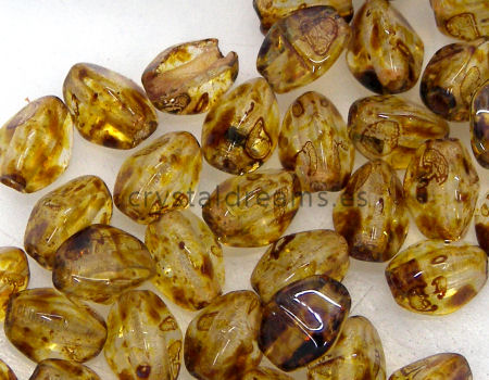 Pinch Beads 5mm - 25 Piezas - Color: Crystal Picasso