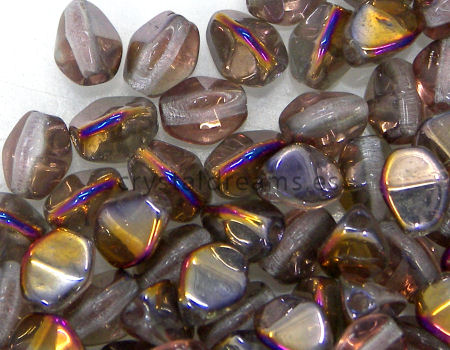 Pinch Beads 5mm - 25 Piezas - Color: Crystal Sliperit