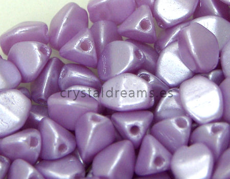 Pinch Beads 5mm - 25 Piezas - Color: Pastel Lila Light
