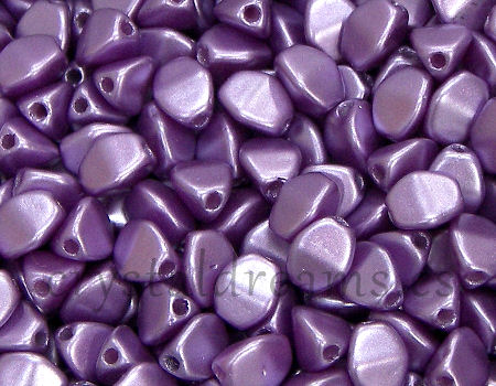 Pinch Beads 5mm - 25 Piezas - Color: Pastel Lilac