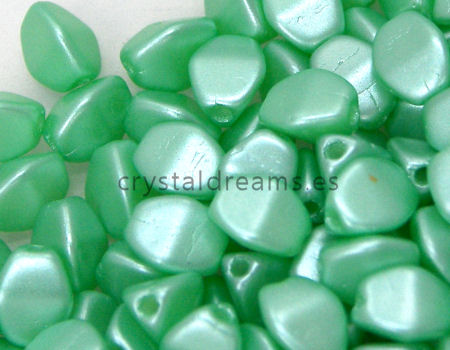 Pinch Beads 5mm - 25 Piezas - Color: Pastel Peridot
