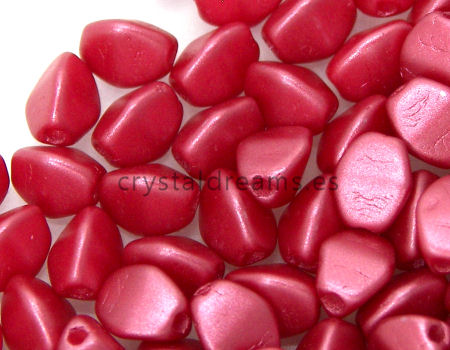 Pinch Beads 5mm - 25 Pezzi - Color: Color: Pastel Red