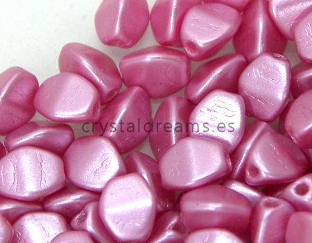 Pinch Beads 5mm - 25 Piezas - Color: Pastel Red Light
