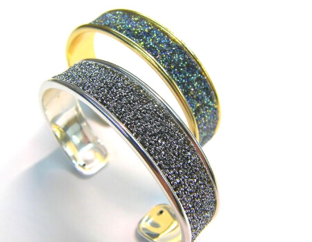 Tutorial Pulsera y anillo con tiras Swarovski Crystal Fabric