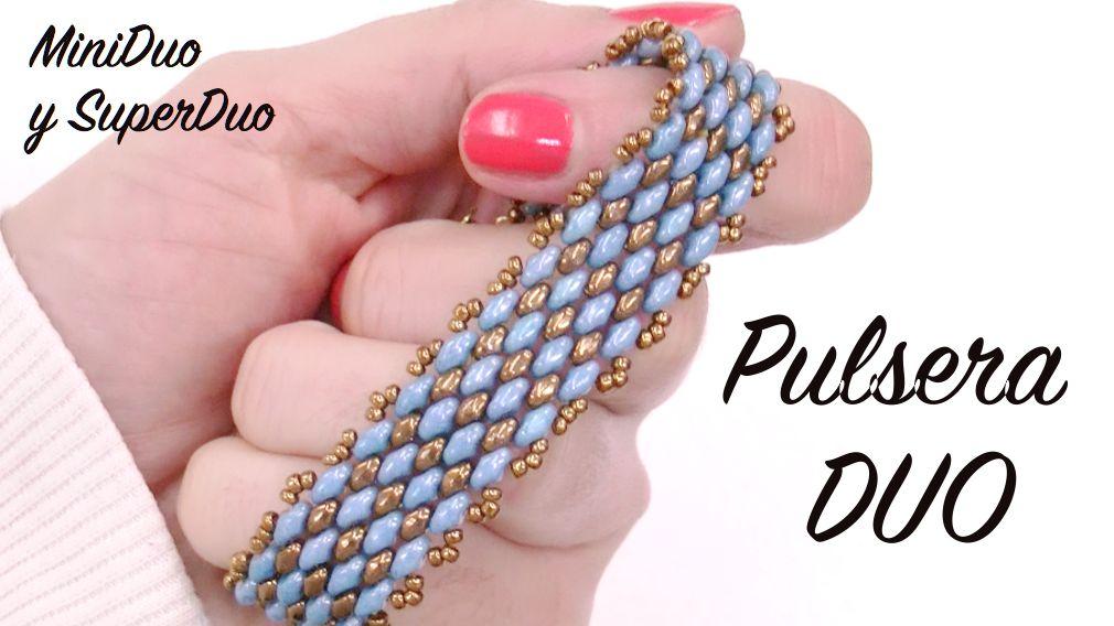 95ca6bae40d2 Tutorial Gratuito - Pulsera DUO con SuperDuo y MiniDuo