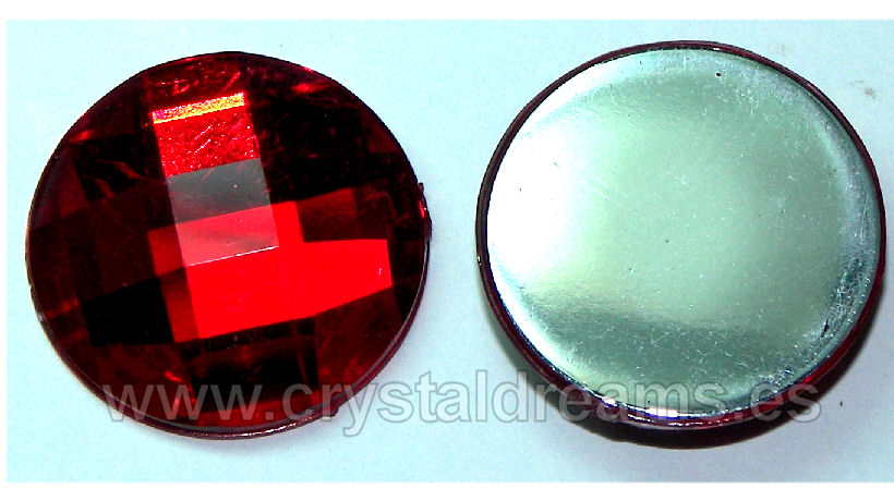 Cabochon acriliche 20mm Red