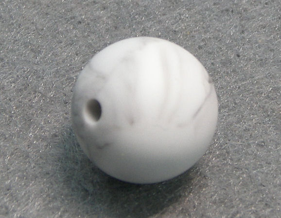 Silicone Beads - 15mm - Hole: 1,7mm - Marble