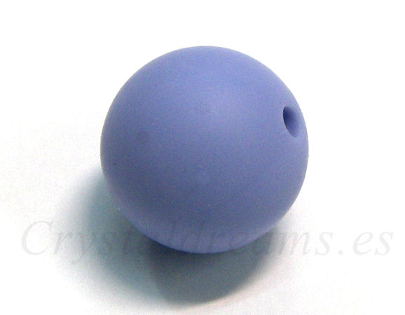 Silicone Beads - 15mm - Hole: 1,7mm - Serenity