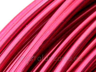 12 metros CABLE DE ALUMINIO - 1,5mm - ROSE
