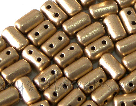 10 gr. Rulla 5x3mm - Light Gold Mate