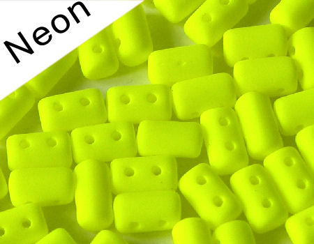 10 gr. Rulla 5x3mm - Neon Yellow