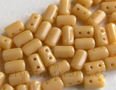 10 gr. Rulla 5x3mm - Opaque Beige