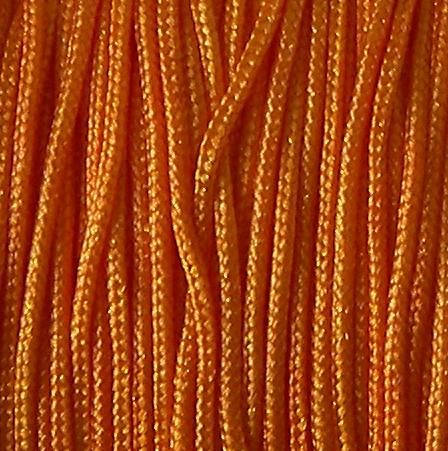 Bobina hilo nylon trenzado Orange 0.8mm x 35m x shamballa