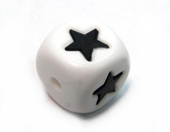 Cubo de silicona de 12mm - Agujero: 1,7mm - Star