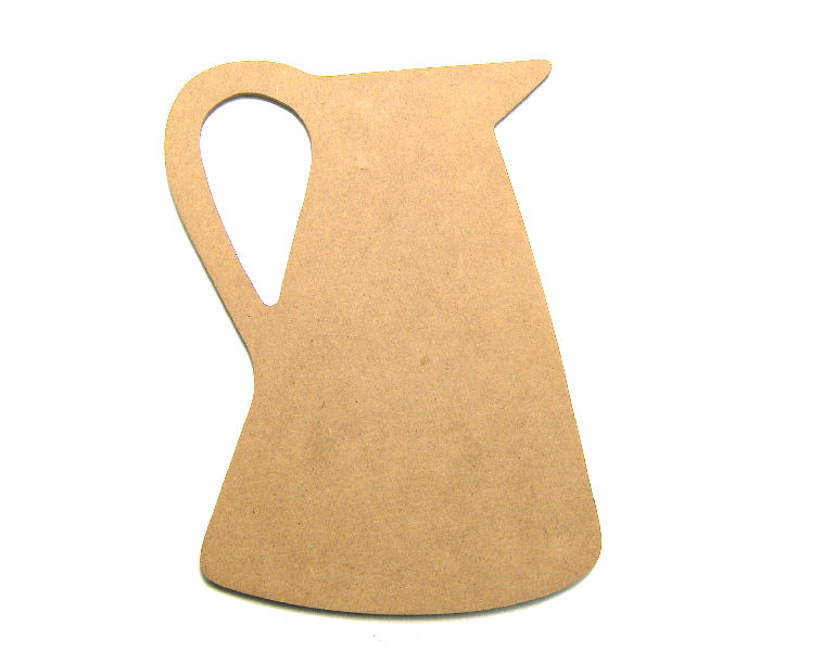 Silueta de DM para decoración 26x19cm Pitcher