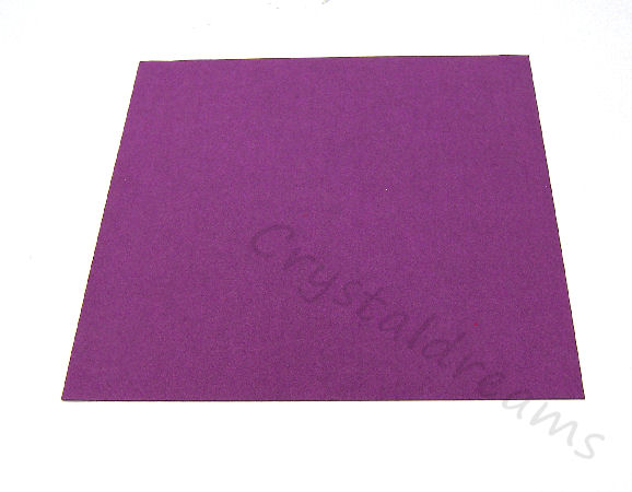 Tela de Ultrasuede 21,6 x21,6cm - Color: Plum