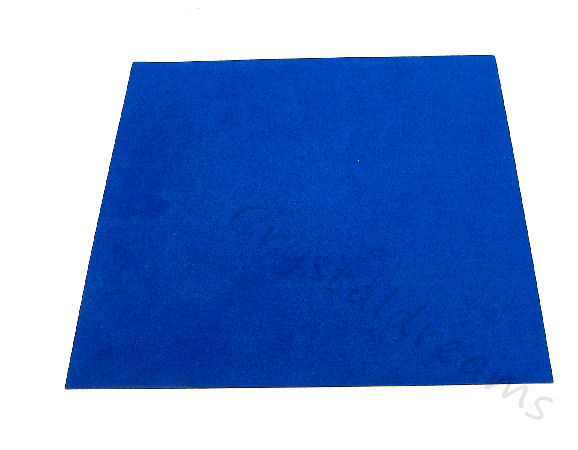 Tela de Ultrasuede 21,6 x21,6cm - Color: Jazz Blue